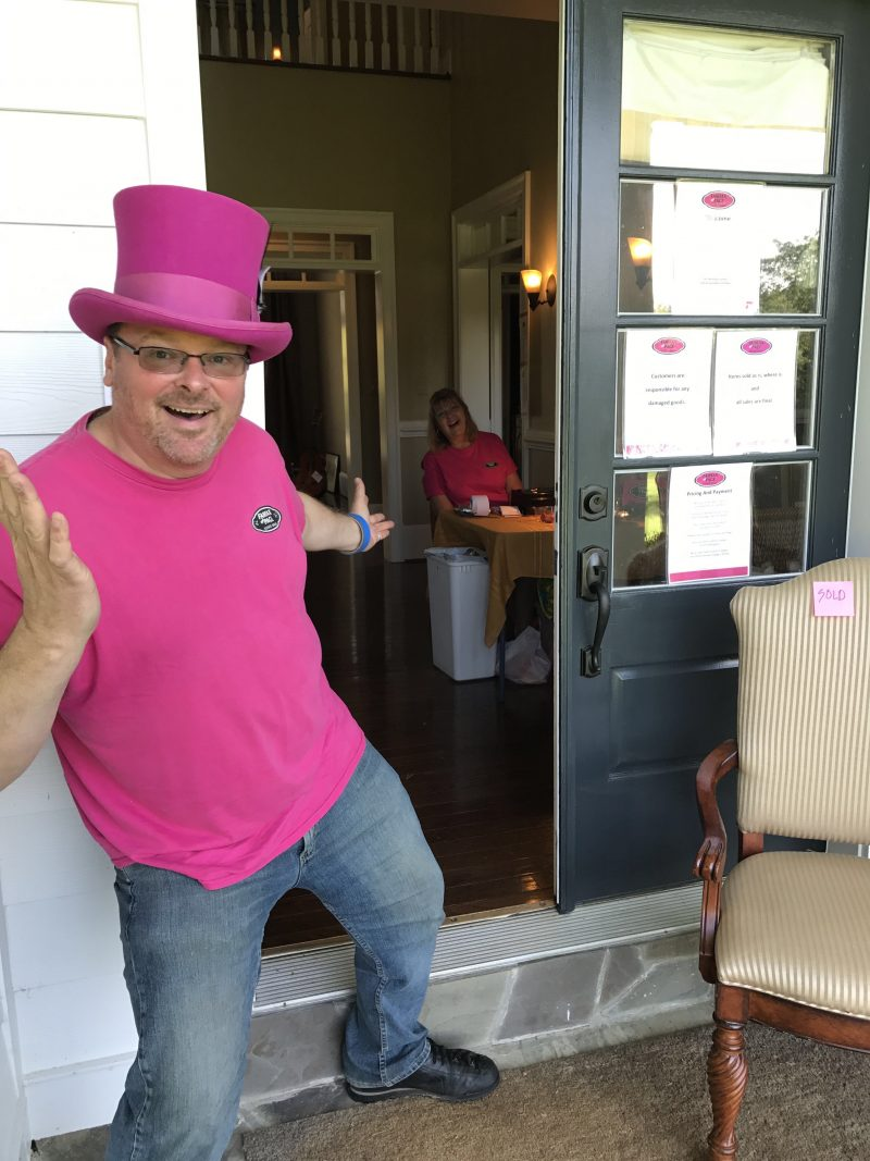 John Lineberger, Owner, Fairfax and Page Estate Sales
