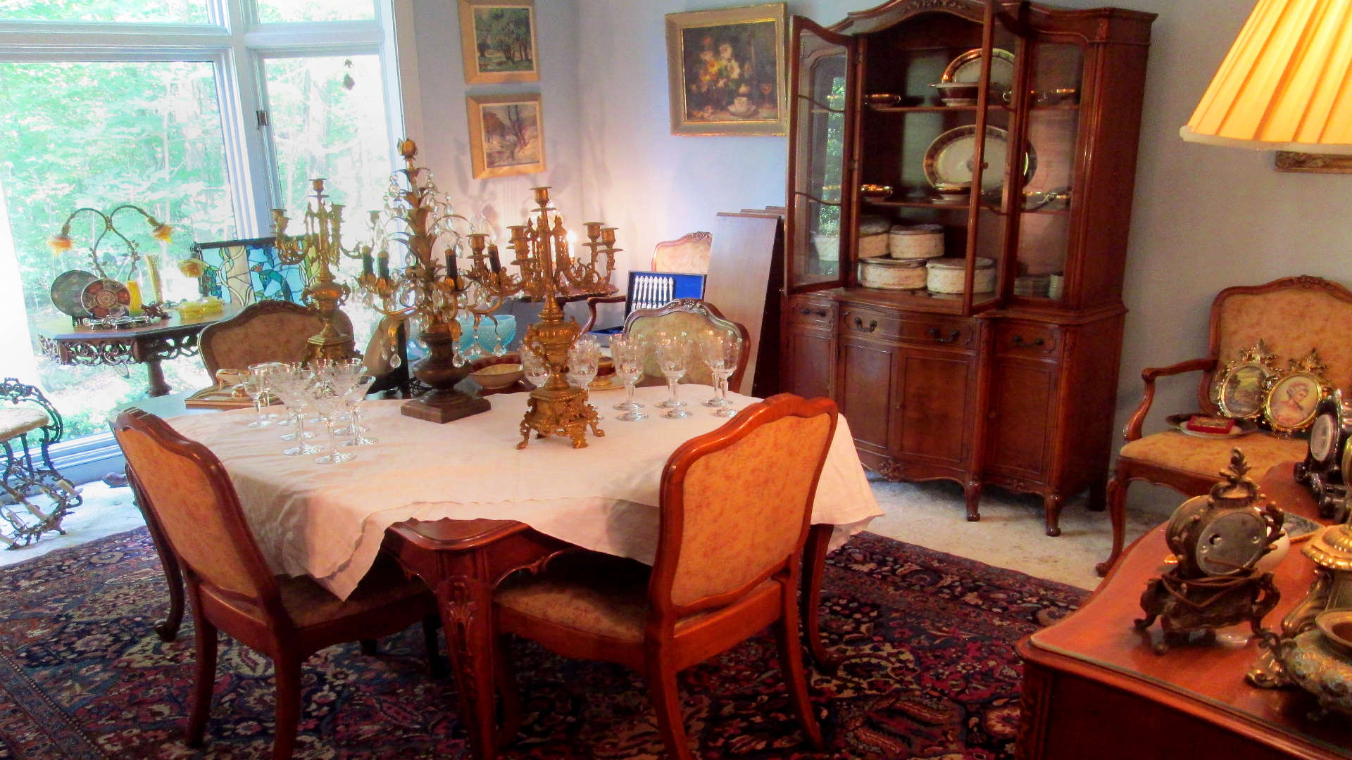 Dining Room Display Fairfax and Page Estate Sales