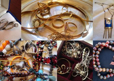 Gold and Jewelry appraised from Fairfax and Page Estate Sales