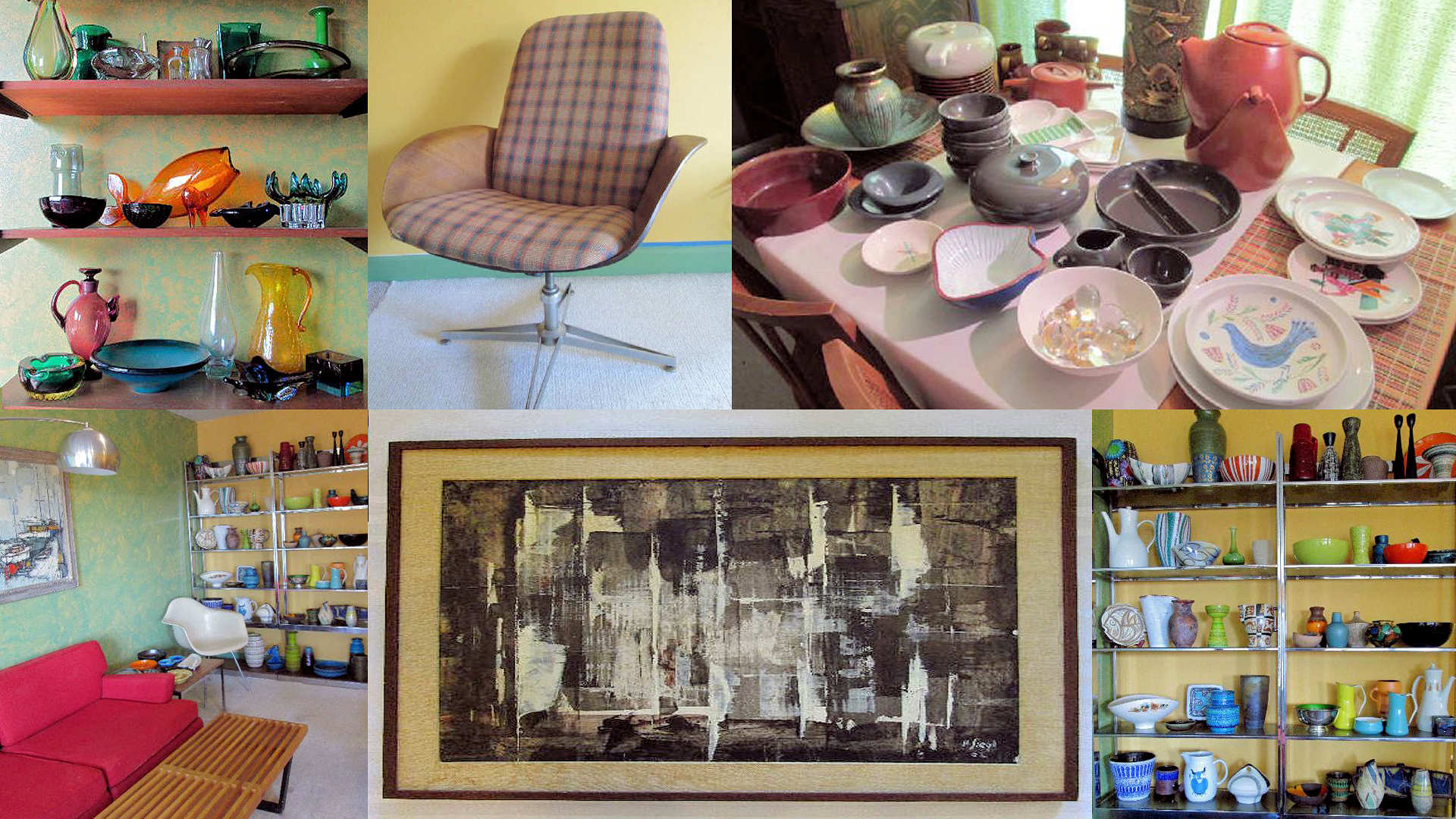 Mid Century Modern Fairfax and Page Estate Sales