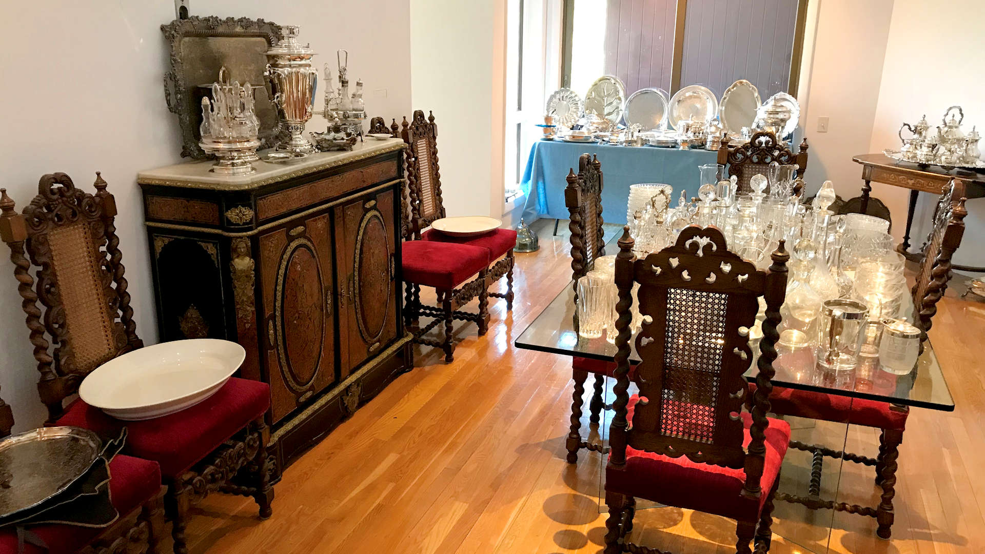 Fairfax and Page Estate Sales